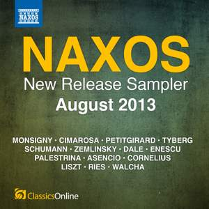 Naxos August 2013 New Release Sampler Product Image