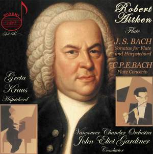 CPE and JS Bach: Flute Sonatas