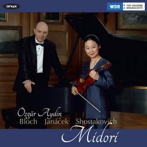 Shostakovich, Janacek & Bloch: Violin Sonatas