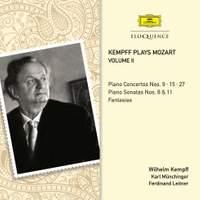 Kempff plays Mozart Volume II