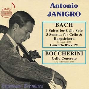 Antonio Janigro plays Bach & Boccherini