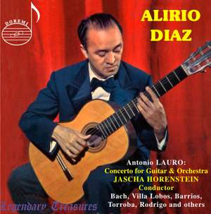 Alirio Diaz: Concertos for Guitar and Orchestra