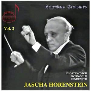 Jascha Horenstein conducts Korngold and Shostakovich