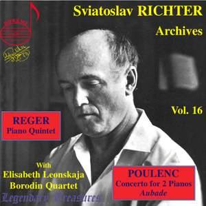 Sviatoslav Richter Archives, Volume 16