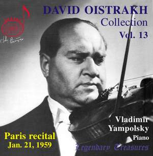 David Oistrakh Collection Volume 13