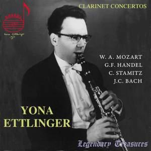 Yona Ettlinger plays Clarinet Concertos