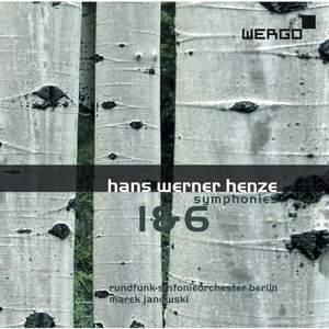 Henze: Symphonies Nos. 1 & 6