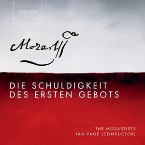 Mozart: Die Schuldigkeit des ersten Gebots, K35