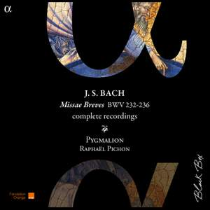 JS Bach: Missæ Breves complete recordings BWV 232-236 Product Image