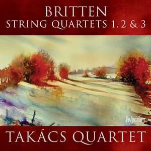 Britten: String Quartets Nos. 1, 2 & 3 Product Image
