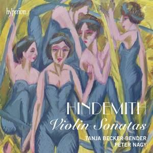 Hindemith: Violin Sonatas