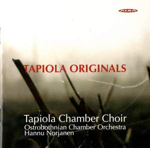 Tapiola Originals - Choral Works Commissioned by the Tapiola Chamber Choir Product Image