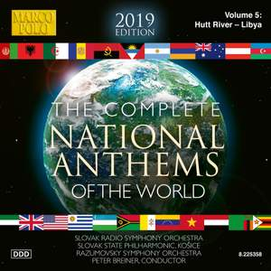 The Complete National Anthems of the World (2013 Edition), Vol. 5