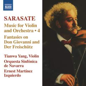 Sarasate: Music for Violin and Orchestra Volume 4 Product Image