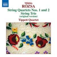 Miklós Rózsa: String Quartets Nos. 1 & 2