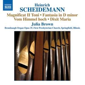 Heinrich Scheidemann: Organ Works, Vol. 7