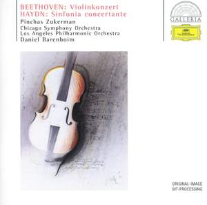 Beethoven: Violin Concerto & Haydn: Sinfonia concertante Product Image