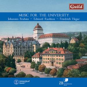 Music for the University: Anniversary Concert in Tonhalle Zurich