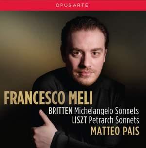 Britten: Michelangelo Sonnets & Liszt: Petrarch Sonnets Product Image