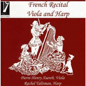 French Recital for Viola & Harp