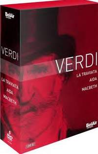 Verdi Boxed Set: Aida, Traviata & Macbeth