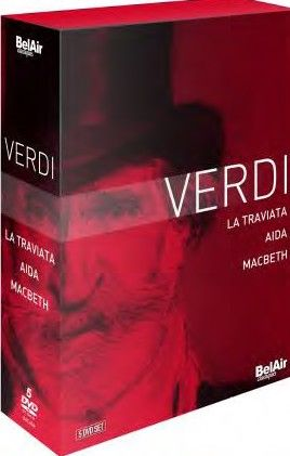 Verdi Boxed Set: Aida, Traviata & Macbeth