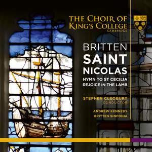 Britten: Saint Nicolas Product Image