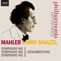 Mahler: Symphonies Nos. 1-3