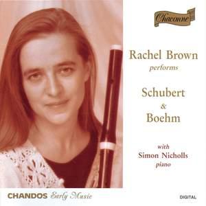 Rachel Brown Performs Schubert & Boehm