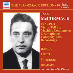 The McCormack Edition Volume 10: (1923–1924)