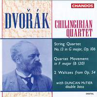 Dvořák: String Quartets No. 13 & 14