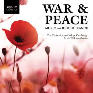War & Peace: Music for Remembrance Product Image