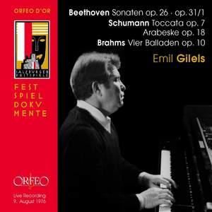 Beethoven, Schumann, Brahms: Emil Gilels Product Image
