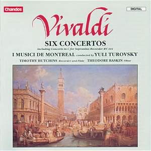 Vivaldi: Six Concertos