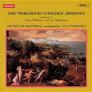 The Pergolesi Concerti Armonici