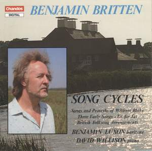 Britten: Song Cycles Product Image