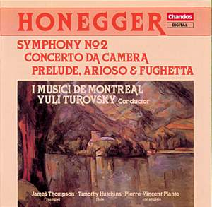 Honegger: Symphony No. 2 and other works