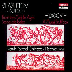 Glazunov: From the Middle Ages & Scenes de ballet