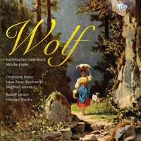 Wolf: Italienisches Liederbuch, Mörike‐Lieder