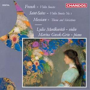 Franck: Violin Sonata in A major & Saint-Saëns: Violin Sonata No. 1