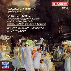 Chadwick: Symphony No. 3 & Barber: Orchestral Works