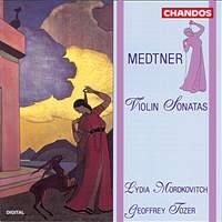 Medtner: Violin Sonatas Nos. 1 & 2