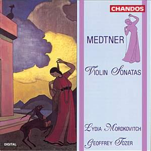 Medtner: Violin Sonatas Nos. 1 & 2 Product Image