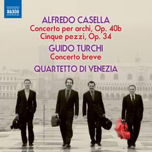 Casella: Concerto per archi, Op. 40b & Cinque pezzi, Op. 34 Product Image