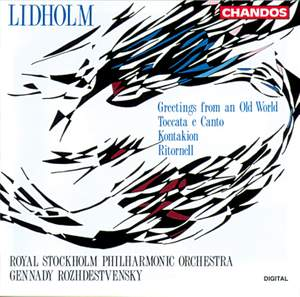 Lidholm: Orchestral Works Product Image