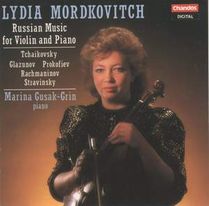 Russian Music for Violin and Piano Product Image