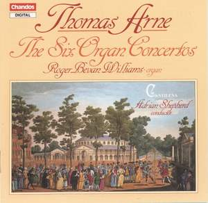 Arne: The Six Organ (Keyboard) Concertos