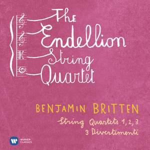 Britten: String Quartets & 3 Divertimenti