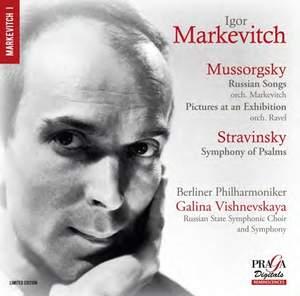 Igor Markevitch conducts Mussorgsky & Stravinsky