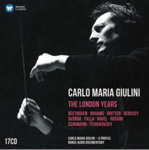 Carlo Maria Giulini: The London Years